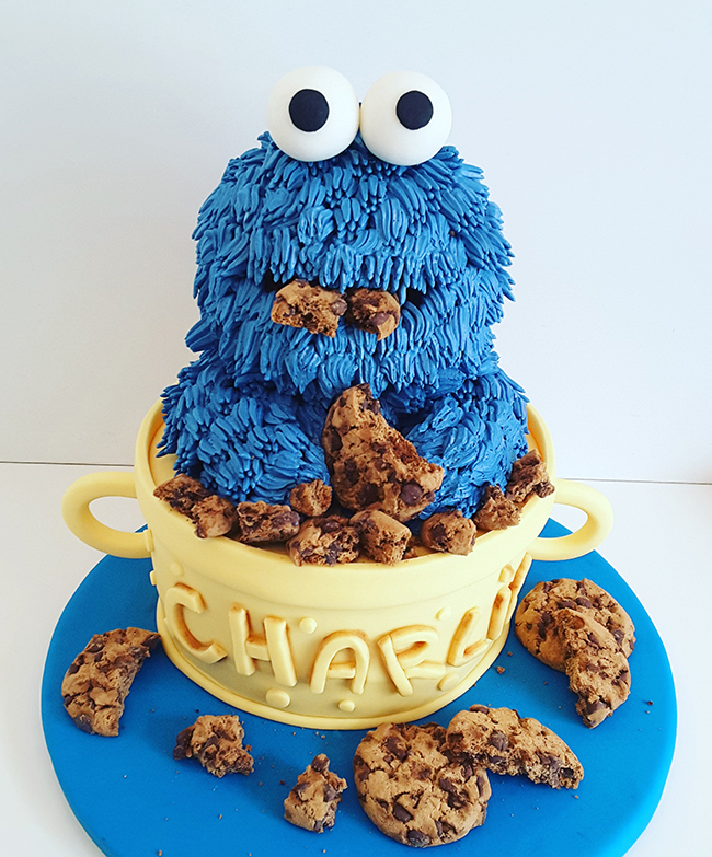 cookie monster motivtorte