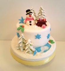 torte-dekorieren-winter-schneemann.jpg