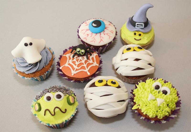 Halloween muffins - Halloween muffins dekorieren ...